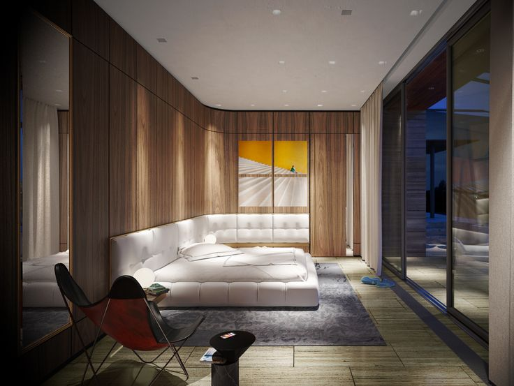 DOOI STUDIO / Guest bedroom Interior view,