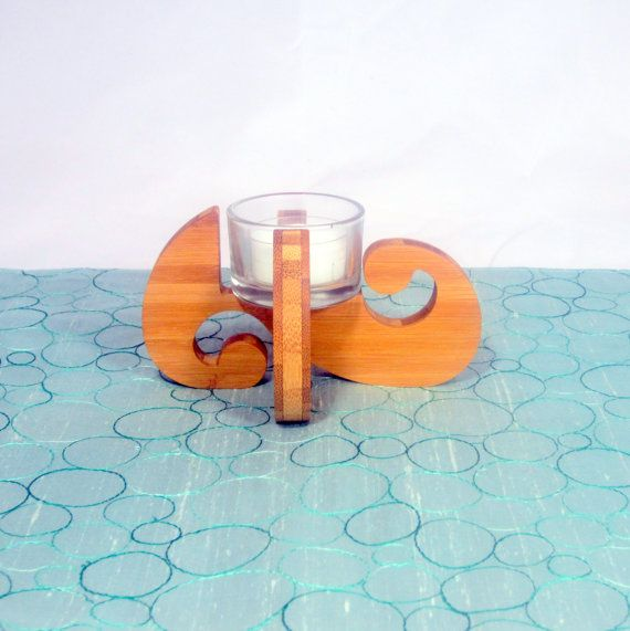 Swirl Tea - Made from eco-friendly bamboo  www.giogiodesign.com