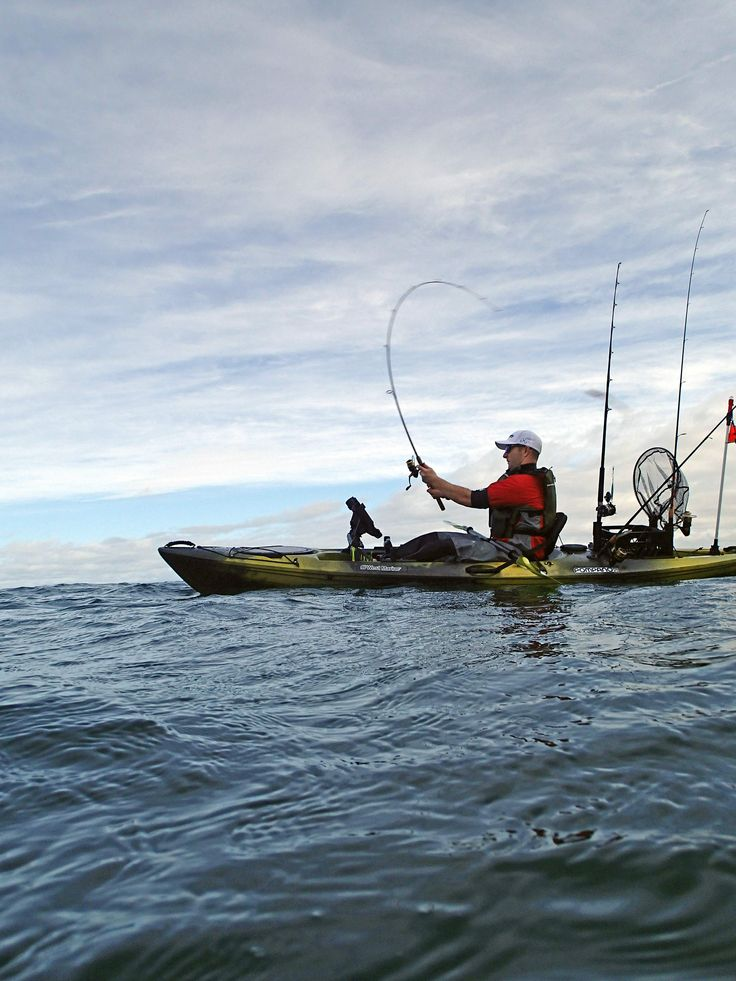 93 best saltwater fishing images on pinterest saltwater for Saltwater fishing kayak