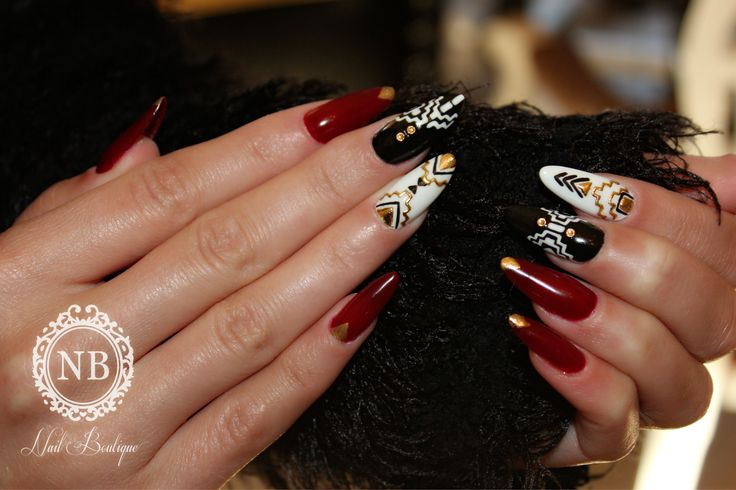 #Nails#Nailboutique#Aztecmanicure