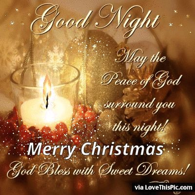 Merry Chrismtas Goodnight Quote