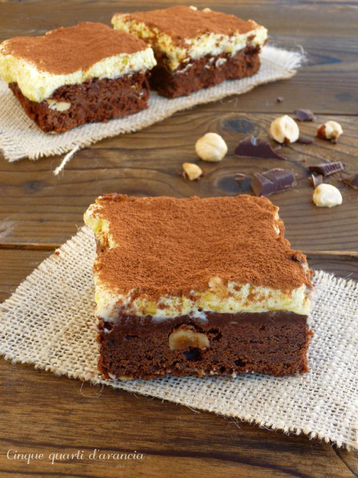 brownies tiramisù