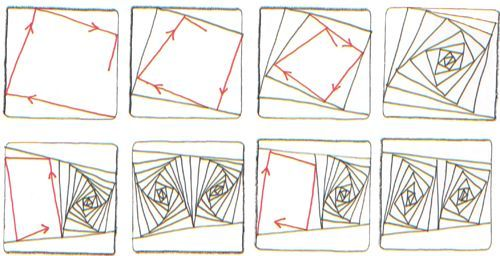 78 Images About Zentangle Step By Step On Pinterest – Desenhos Para