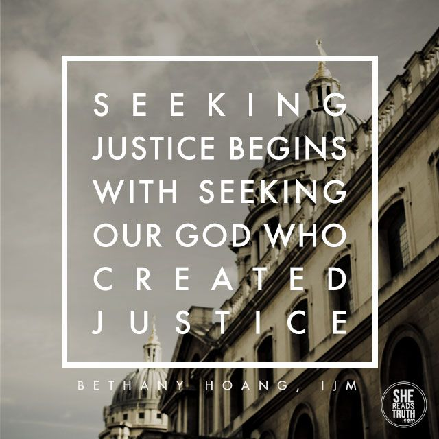 what is justice... Please join me and many others in discovering what justice means and looks like through the grace of God!
