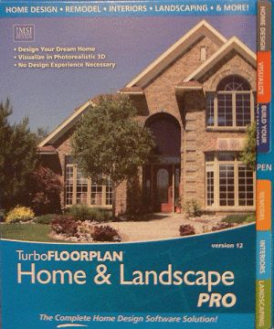 Top Home Design and Architecture Software Programs: IMSI TurboFLOORPLAN Home