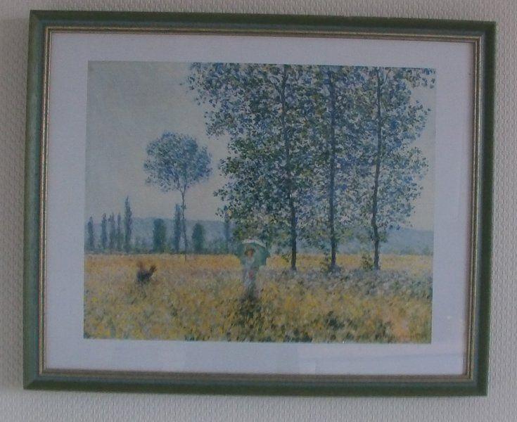 """""""Felder im Frühlimg"""" von Claude Monet von Manu's kleine Vintage Schatzkiste auf DaWanda.com"""
