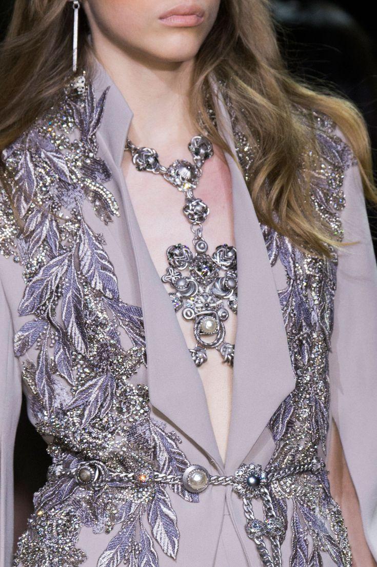 Elie Saab Haute Couture Spring 2016 detail