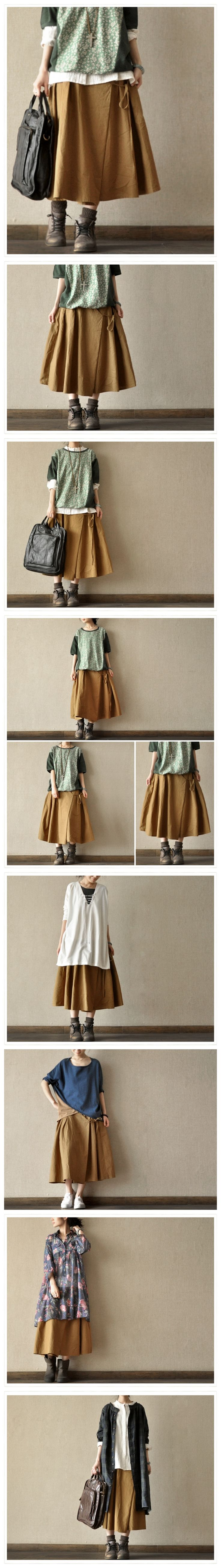 Loose Linen Coat Dress Linen Women Shirt by Fantasylinen