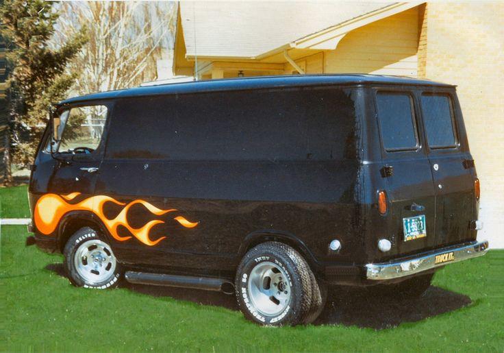 ARTBYOXO 1966 Chevy Van Built in 1971 - Vintage-Vans Member's Gallery
