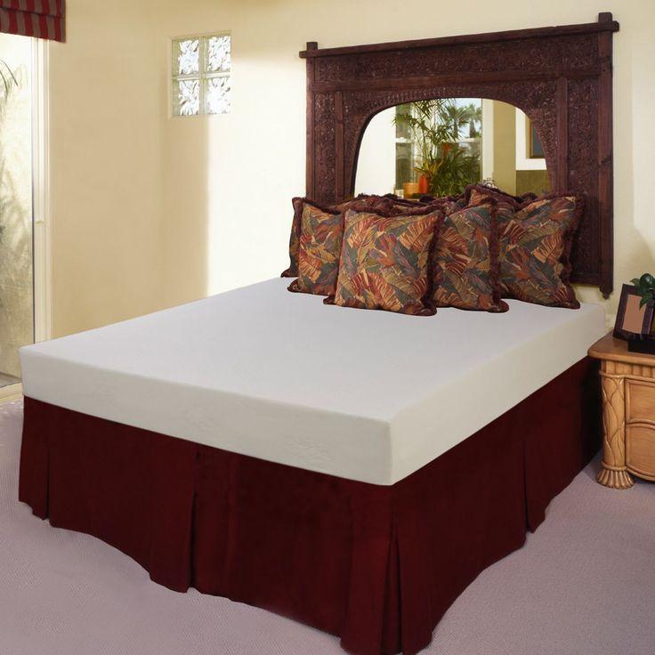 select luxury medium firm 7inch twinsize memory foam mattress twin
