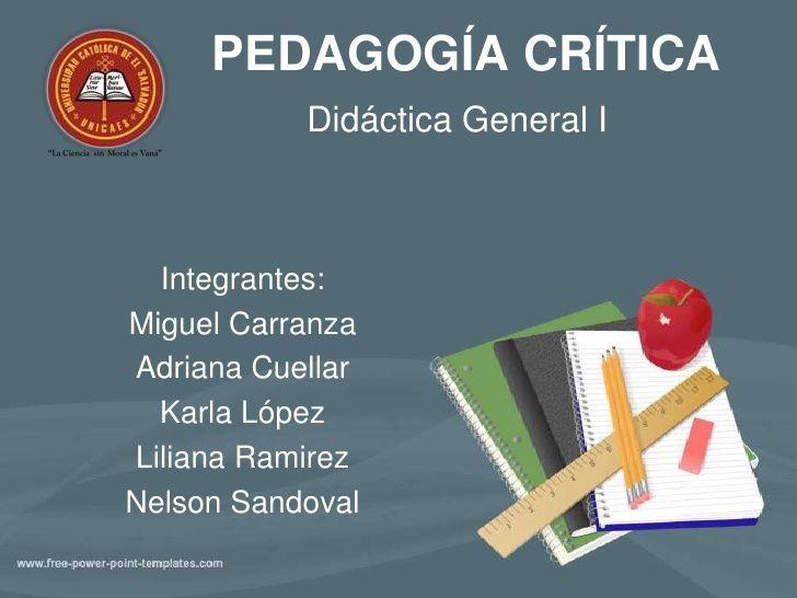9 pedagogia critica