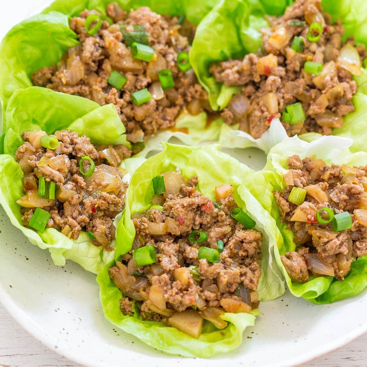 PF Changs Lettuce Wraps