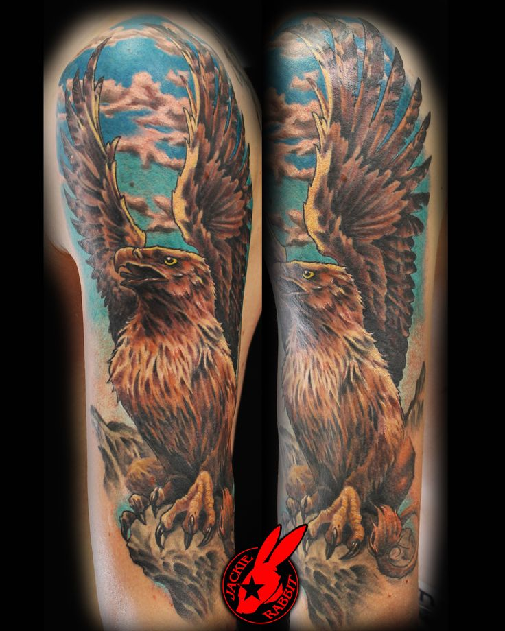Custom tattoo by jackie rabbit eye of jade tattoo 319