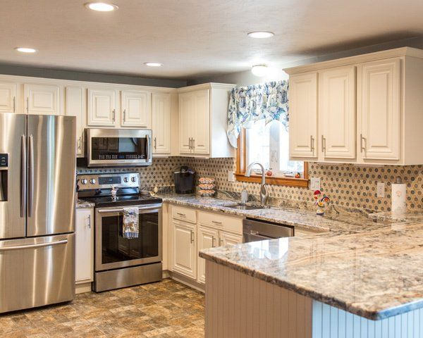 Most Popular Granite Countertop Colors Updated Kitchen Remodel