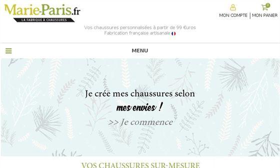 Marie Paris - Chaussures conçues par les clients et fabriquées à la commande à Cholet     - Nantes, Loire-Atlantique, Pays de la Loire