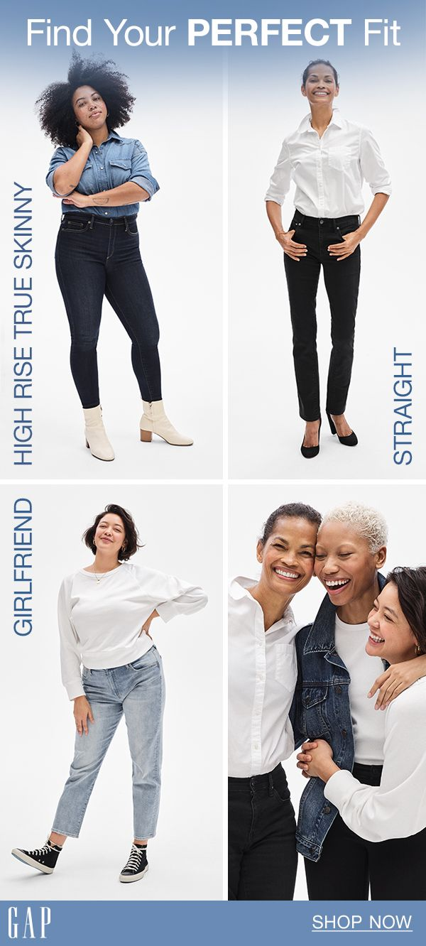 173b442db0ed20 Jeans for every body type. Quality to count on. Details that make all the  difference. That's Gap denim.