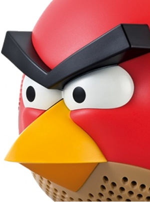 Red bird speaker portatile ipod e iphone