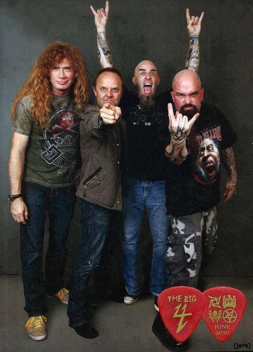Megadeth, Metallica, Anthrax, Slayer.... ONLY 2 of these bands fucked over Band Mates, oh wait count Lars twice~caLLing It LIKE IT IS