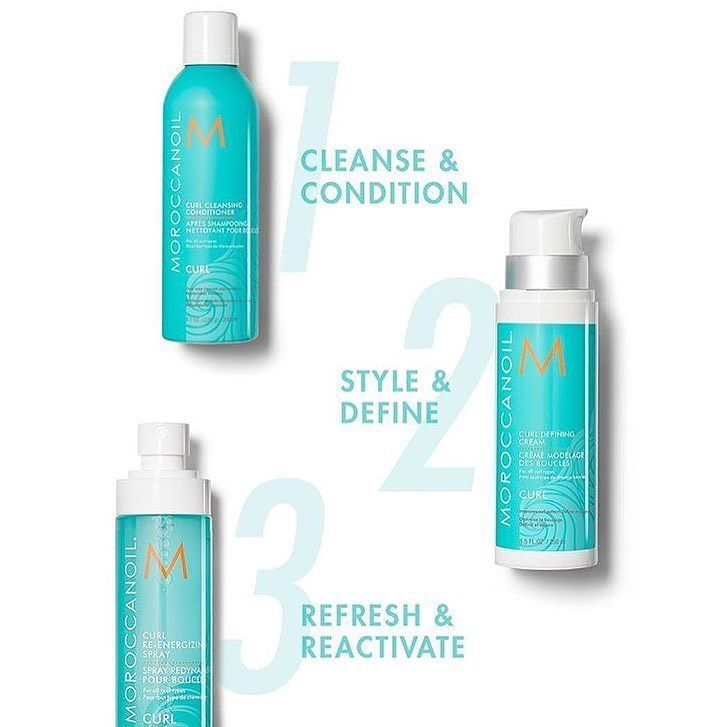 Caring for your curls can be as easy as 1-2-3!   #moroccanoil #hairproducts #curlyhair #frizzyhair #hairtips #beautyproducts #beauty #happyhair #healthyhair #curls #aruspa #aruspaandsalon #salon #hairsalon #hairstyle #surrey #whiterock #southsurrey #vancouver #van #vancity #vancitybuzz #hairstylist