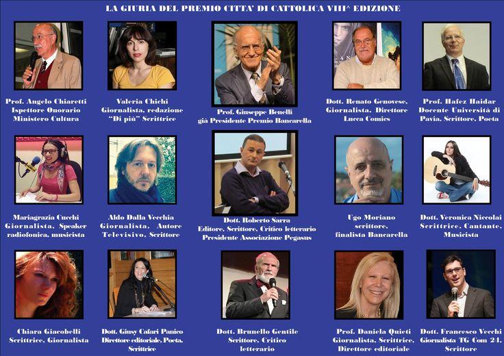 La prestigiosa giuria del premio Letterario Internazionale Città di Cattolica Pegasus Literary Awards per info: www.premioletterraiocattolica.it premiocattolica#