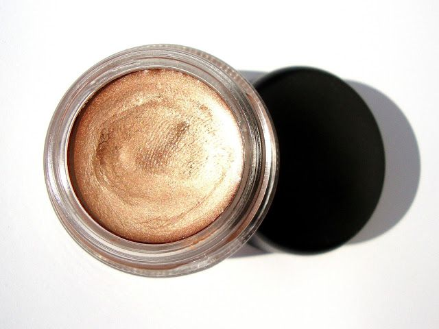 mac, MAC Paint Pot, MAC Indianwood Paint Pot, review, cream shadow, eyeshadow base,