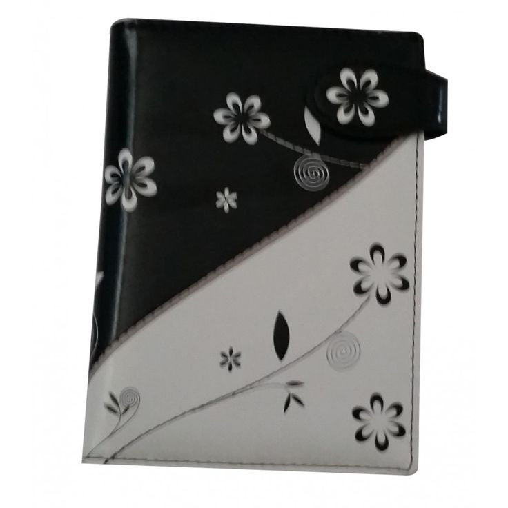 Black & White Passport Holder