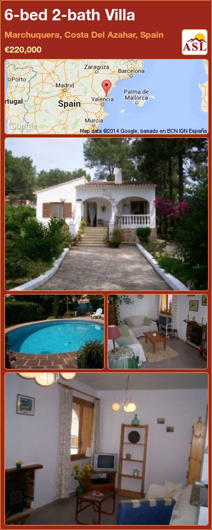 6-bed 2-bath Villa in Marchuquera, Costa Del Azahar, Spain ►€220,000 #PropertyForSaleInSpain