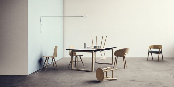 DT20 dining table by Glismand & Rüdiger