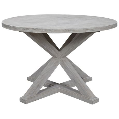 The Cancun round dining table is a new addition to the