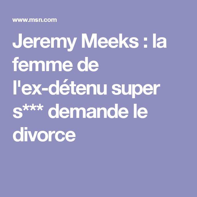 Jeremy Meeks : la femme de l'ex-détenu super s*** demande le divorce