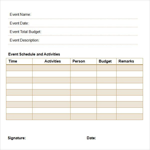 Event Planning Proposal Template Event Planning Proposal Event Proposal Event Proposal Template