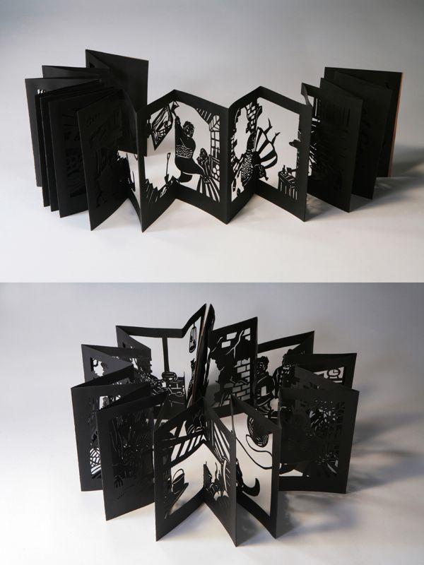 A madman's diary by Soojin Park, via Behance