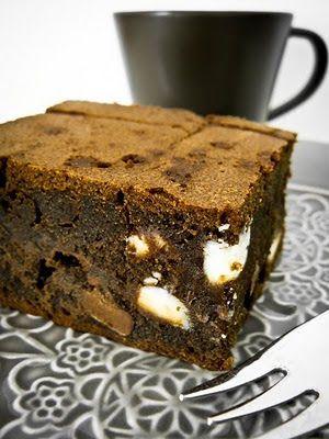 TeaRoom: Nigella Triplacsokis brownie-ja