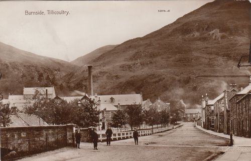 Tillicoultry Guide and Information - Photos Old Postcards