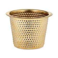How nice wouldnt this be for my hydrangea? Kruka Hortus Mässing Liten | Svenskt Tenn