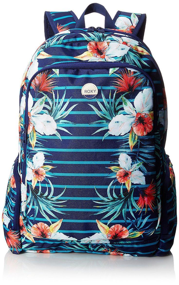 Roxy Alright de la mujer mochila, color Multi, talla Una talla: Amazon.com.mx: Ropa, Zapatos y Accesorios