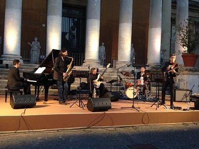 Grande successo per il Pescara Jazz Ensemble per in concerto nel Cortile della Pigna ai Musei Vaticani