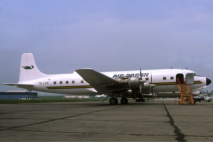 Gabon Airlines- | Description Air Gabon Douglas DC-6
