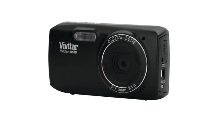 Vivitar 16.1MP Digital Camera with 3-Inch LCD-Black