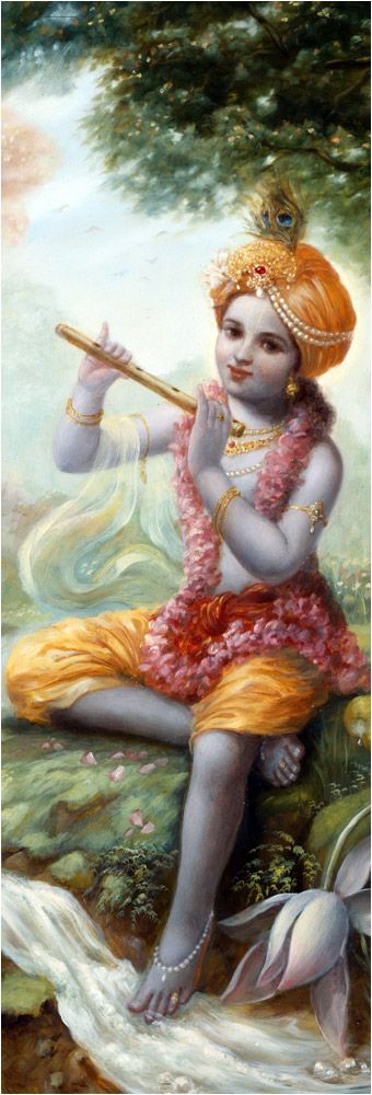 """O Brahma-, it is I, the Personality of Godhead, who was existing before the creation, when there was nothing but Myself. Nor was there the material nature, the cause of this creation. That which you see now is also I, the Personality of Godhead, and after annihilation what remains will also be I, the Personality of Godhead."" (Bhag.2.9.33)"