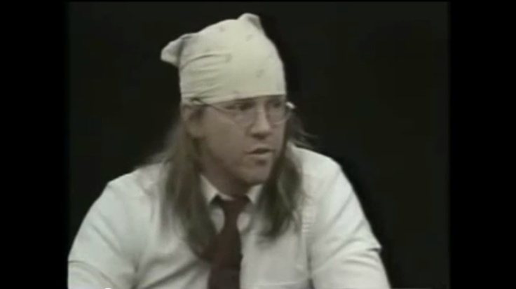 David Foster Wallace.  Post Modern Author of Infinite Jest.  Supreme observer and questioner of modern American culture.  His books are challenging.  Believes that our modern society entices us to shut down/out the basic human need we have to think and engage on a single topic rather that constantly context switch.  He believes that eventually the suppressed part of our psyche will fight back and cause us great suffering.