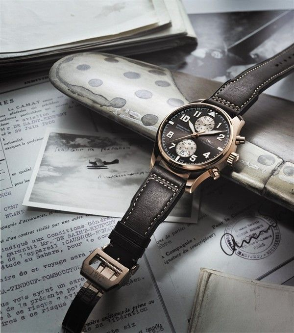 IWC Pilot's Chronograph Watch Antoine de Saint Exupery Edition @IWC Schaffhausen Watches #luxury #watch