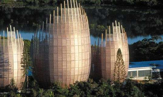 Renzo Piano's Gorgeous Jean-Marie Tjibaou Cultural Center Inspired by Native Architecture