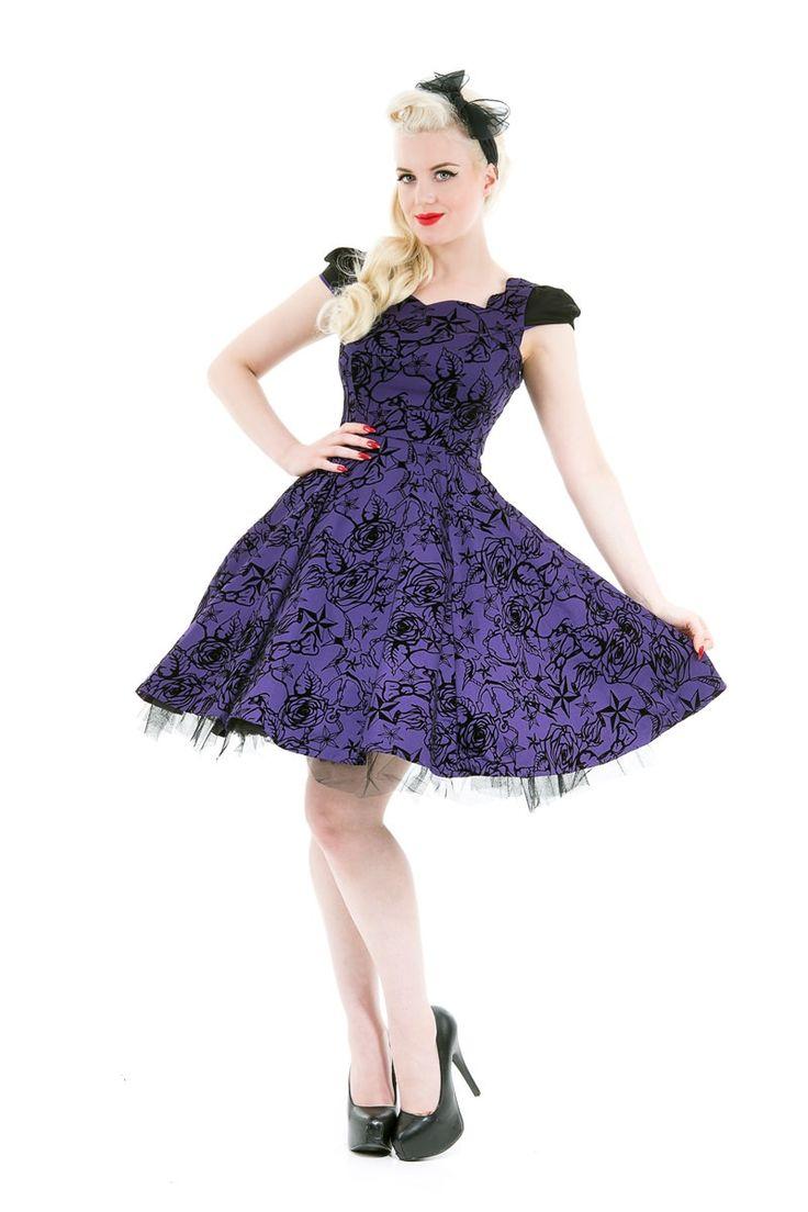 Purple Passion Dress | H&R London