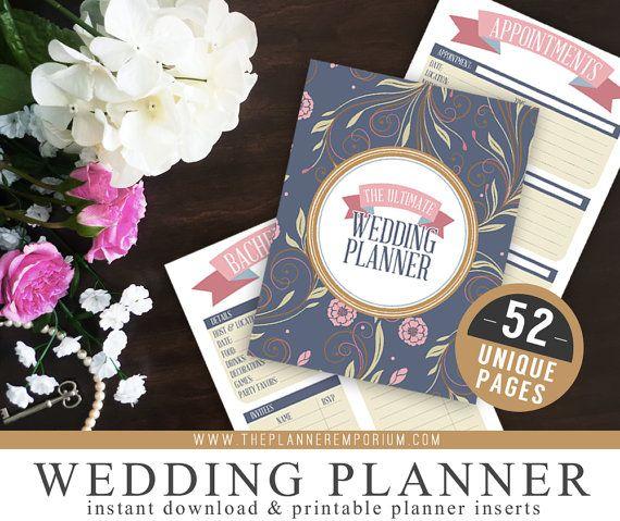 Ultimate Wedding Planner Organizer Kit  by ThePlannerEmporium