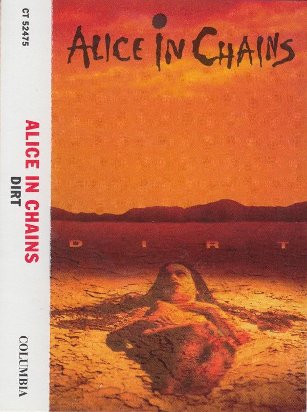 Alice In Chains Dirt Cass Album For Sale Discogs With