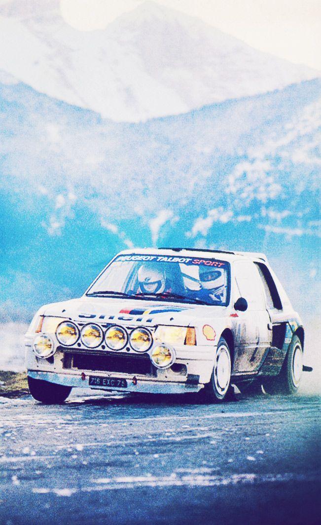 Ari Vatanen T-ing the 16