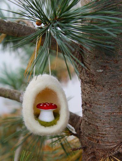 Filz-Ornament, Anleitung