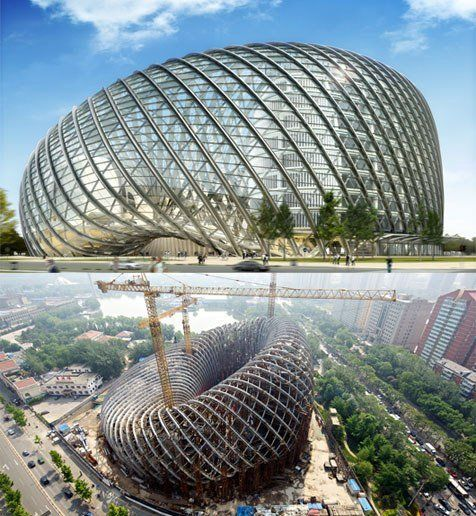 10 of the world 39 s most spectacular libraries beijing for Amazing architecture design
