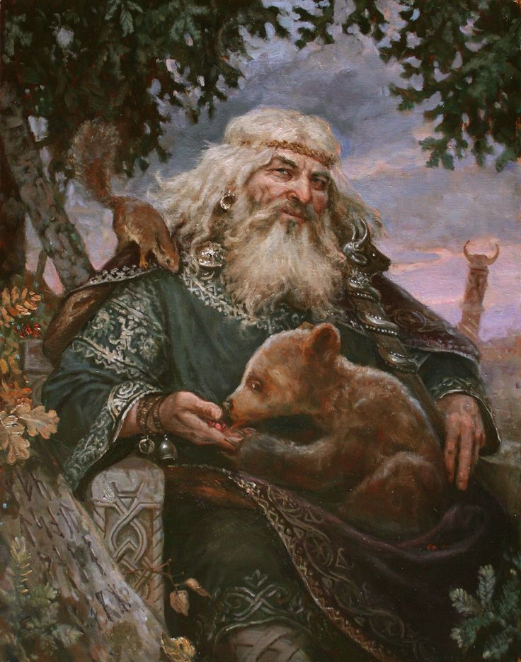 Велес – картина художника Андрея Шишкина